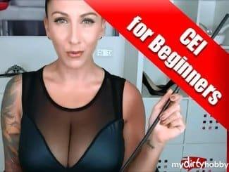 Dies ist mein erstes Cum-Eating-Instruction Video für Anfänger. Ich werde dich zur Schluckschlampe erziehen und üben wirst du mit deinem eigenen Sperma! Los friss deinen eigenen Saft!